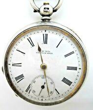 A Very Good  Antique Silver WALTHAM Pocket Watch 1885