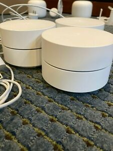 Used Google WiFi Mesh System (3-Pack)