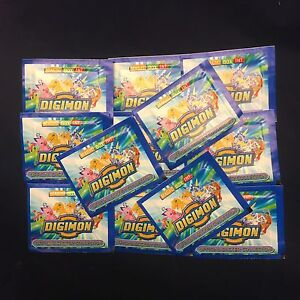 40 Packs Digimon Sticker Collection Magic Box International NEW Unopened
