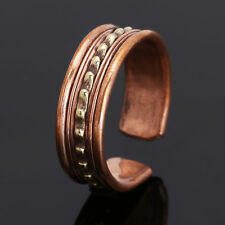 Unisex Adjustable Tibetan Medicine Ring Copper Magnetic Ring With Pure Copper