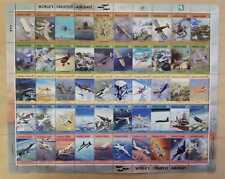 Marshall Islands 2004 - World's Greatest Aircraft - Sheet of Fifty Stamps - MNH