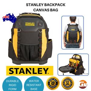 Tool Bag Back Pack Carrier Storage Stanley Padded Laptop Water Resistant Bag