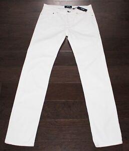 $225 Brand New VILEBREQUIN Cotton Pants Men's 32x34 White Jeans Casual sz 48 NWT