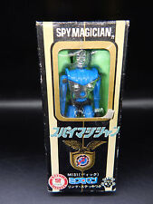 M-131 vintage Microman SPY MAGICIAN figure vintage w/BOX Takara micronauts Dick