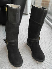 Wrangler Women's Brown Cyril Belt Biker Style Boots Mint Condition Worn Twice