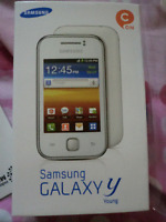 New condition Samsung Y Young s5360 Sim Free Unlocked 3G Smartphone