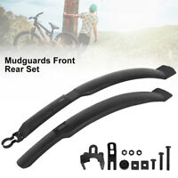 "WILLKEY CYCLE 26"" MUDGUARDS FRONT & REAR MOUNTAIN BIKE/BICYCLE MUD GUARDS SET"