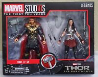 Marvel Legends Studios First 10 Years: Thor The Dark World 2 Pack Thor and Sif