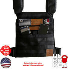 Crossfit Weight VEST WOD vest PLATE CARRIER chaleco Colette compare 5.11 rogue