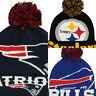 New Era NFL Men's Colossal Team Cuffed Pom Knit Hat Beanie Toque