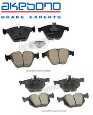New BMW E90 335d 335i Set of Front & Rear Brake Pad Set Akebono