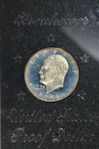 1971 S Proof Eisenhower Dollar Peg Leg