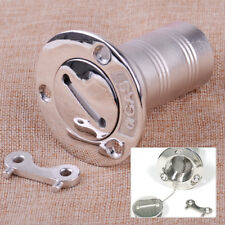 1.5inch Stainless Steel Boat Marine Deck Fuel Gas Tank Filler With Cap And Key