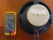 """Vintage Altec Lansing Speaker Model 414-8B Original Cone 12"""" Woofer"""