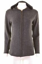 INVICTA Womens Hoodie Sweater Size 14 Medium Grey Wool  G010