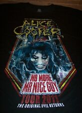 ALICE COOPER No More Mr Nice Guy 2011 TOUR  T-Shirt LARGE NEW