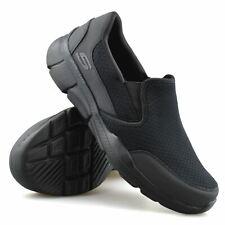 Mens Skechers Slip On Memory Foam Casual Gym Sports Walking Trainers Shoes Size