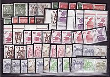 Sammlung, Berlin, Zusammendrucke, K 3 - W 82, 1962-1982 komplett, postfrisch