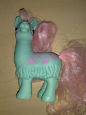 Vintage G1 Hasbro My Little Pony CHA CHA Pony Friend Llama - HTF, very nice