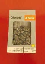 Genuine Stihl Oilomatic Chain Saw Chain 33 RS 70 link 3/8 .050 ga 3623 005 0070