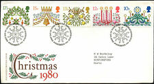GB FDC 1980 Noël Philatélie Bureau H/S #C41082