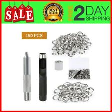 150Pcs 1/2 Inch Grommet Kit for Tarpaulin, Fabric, Curtains and Craft Making