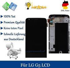 Für LG G5 H850 LCD Touchscreen Display Scheibe Glas Ersatz mit Rahmen Schwarz
