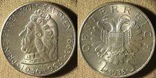 Austria : 1936  2 Sch.   BU  #2858    IR3737