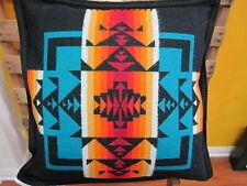 Pendleton Chief Joseph Pillow Black  Made in USA!!
