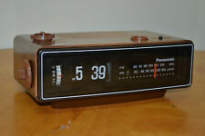 Panasonic Flip Clock RC6030 New Light All Tuned Up Works Nicely
