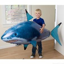 Plastic Air Swimmers Remote Control Flying Shark For Kids Inflatable Balloon Toy