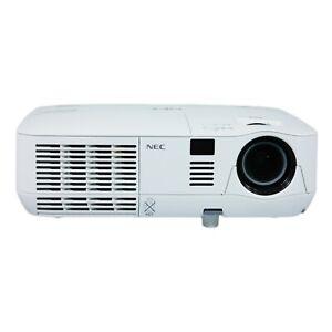 NEC V300W DLP WXGA Projector 3000 ANSI 2K 1080i HD PC 3D Ready HDMI w/bundle