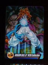 DRAGON BALL Z DBZ MORINAGA WAFER CARD CARDDASS PRISM CARTE 376 3D MADE JAPAN NM