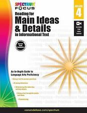 Spectrum Reading for Main Ideas and Details in Informational Text, Grade 4: B...