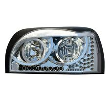 Freightliner Century Headlight CHROME w/Amber LED DayLight &Turn Signal LED (LH)