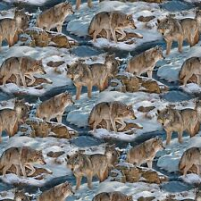 Wild Wings Narragansett Creek Scenic 100 Cotton Fabric by The Yard