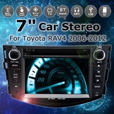 "7"" 2 Din DVD Player 3G GPS NAV Stereo bluetooth Radio Indash For Toyota RAV4 06-"