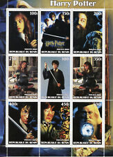 Harry Potter Stamps 2003 MNH Chamber of Secrets Dumbledore Hagrid Hermione 9v MS
