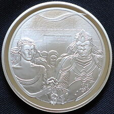 2003 New Zealand Silver Proof $1 Lord of the Rings Aragorns Coronation