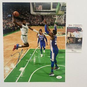 Jaylen Brown Signed 11x14 Photo Autograph JSA COA Boston Celtics NBA Authentic
