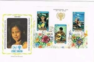 Envelop Jaar van het Kind 1979 - Aitutaki (194)