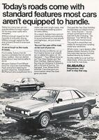 Classic Vintage Advertisement Ad H08 2-page drive fast 1992 Subaru SVX