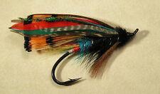 Black Dose - Full Dress 1/0  Salmon / Steelhead Flies