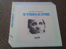 33 tours charles aznavour autobiographie