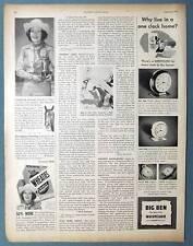 Orig 1948 Wheaties Farm Champion Photo Ad Gladys Foster of Thermal California