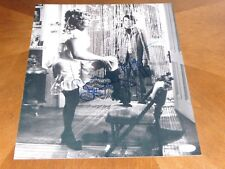 Dustin Hoffman & Faye Dunaway Signed 11x14 Photo AUTO JSA COA Little Big Man