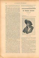 Nid Fourmis Cigales/Sir Henri Morgan Flibustiers Pirates GRAVURE OLD PRINT 1909