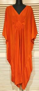 Long  Kaftan Dress new Grecian style cool Rayon material fit Plus size 16-24 New