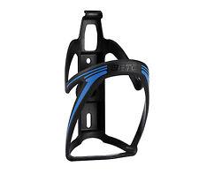 Portabidon BETO Porta Bidon Negro y Azul de Fibra Bicicleta MTB Carretera 3780az