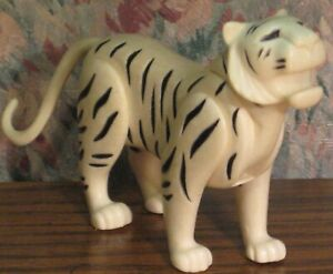 "Playmobil Zoo White Tiger - 4"" - Geobra - Loose Figure Only"